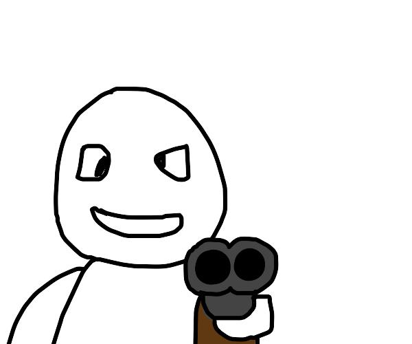 Double Barrelled Gun
