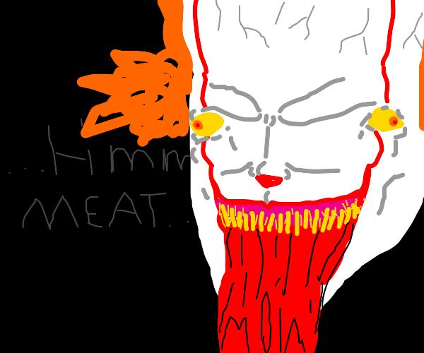 IT eats meat