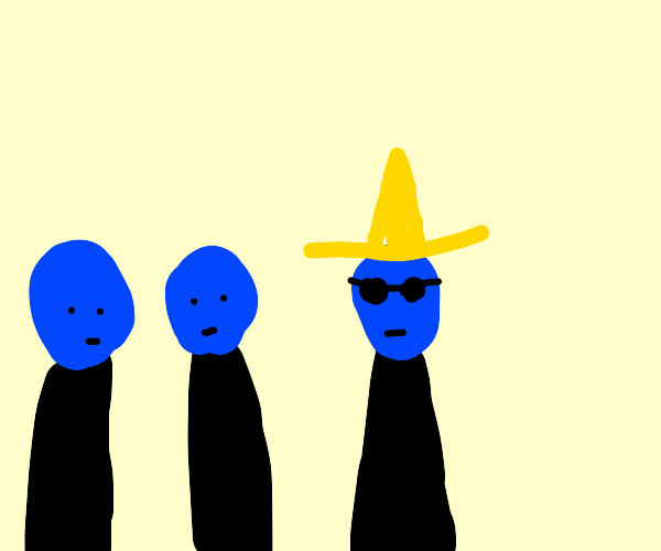 the blue man group but awesome