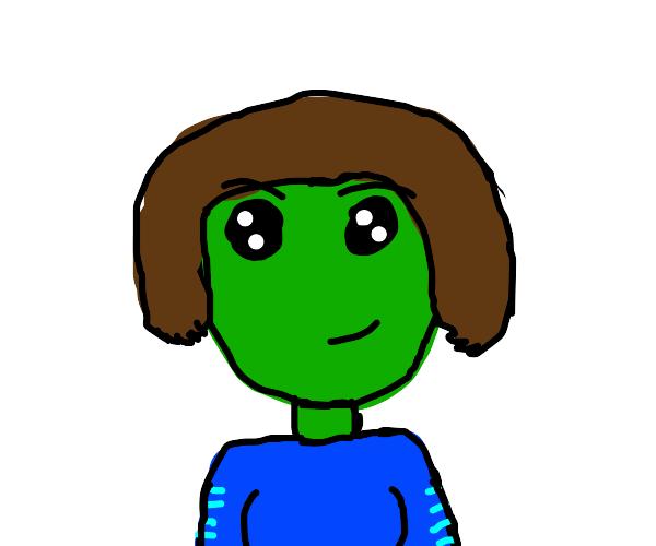 A Female Alien