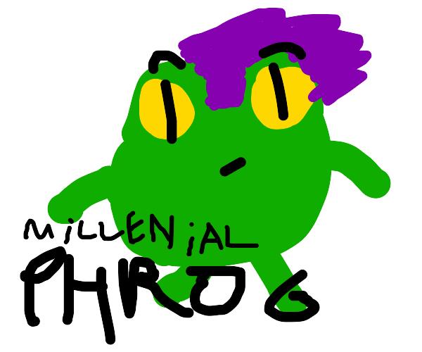 millennial frog
