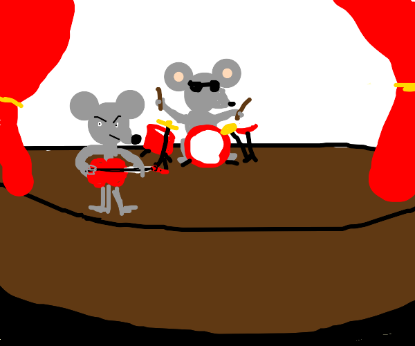 Mouse rock band