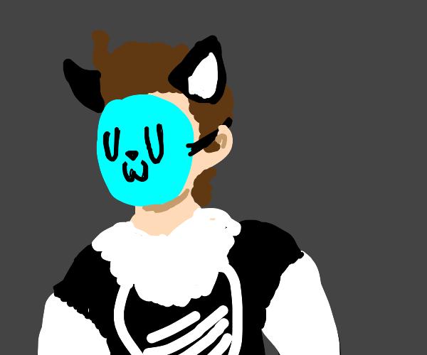 An UwU cat boy