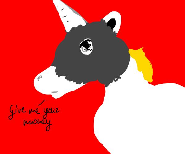 Bandit unicorn