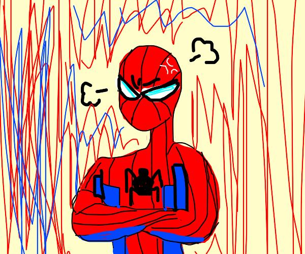 angered spider