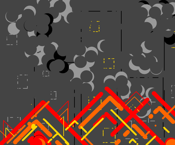 City burns to ash