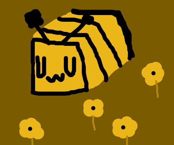 Minecraft Bee goes UwU