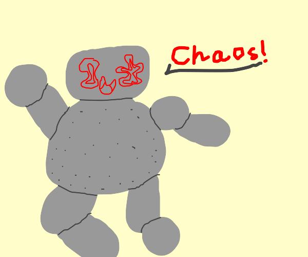 Stone golem wants chaos