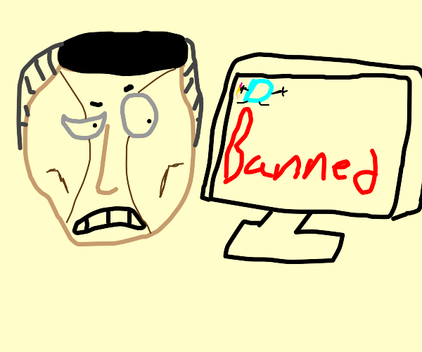 Okuyasu got banned from drawception