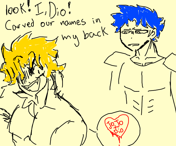 Jonathan confused by Dio's acts to court him