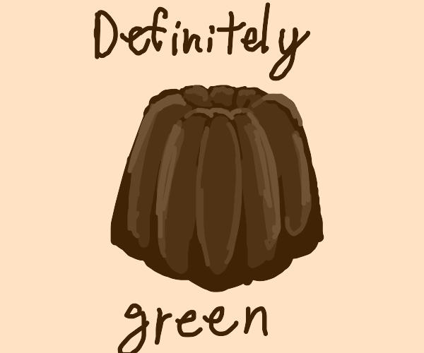 oh god it's a block of green jello