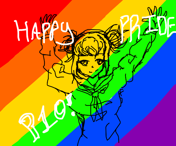 Happy Pride Month! (Pass It 0n)