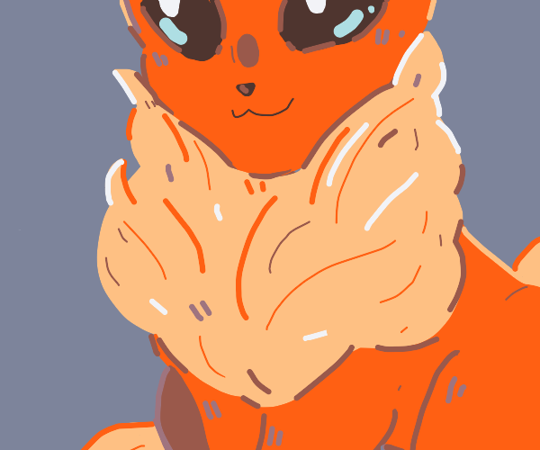 Flareon enjoys you eyeing its ruff