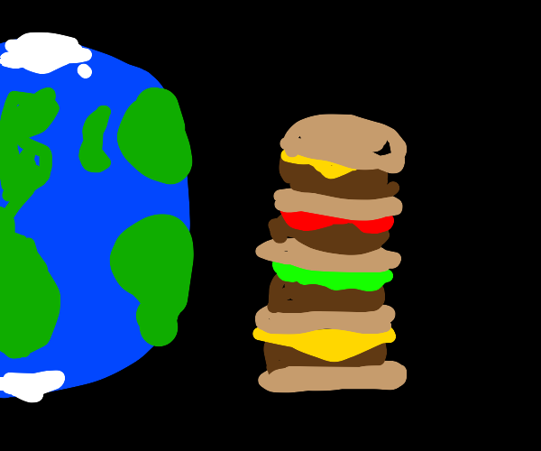 biggest borger in the world