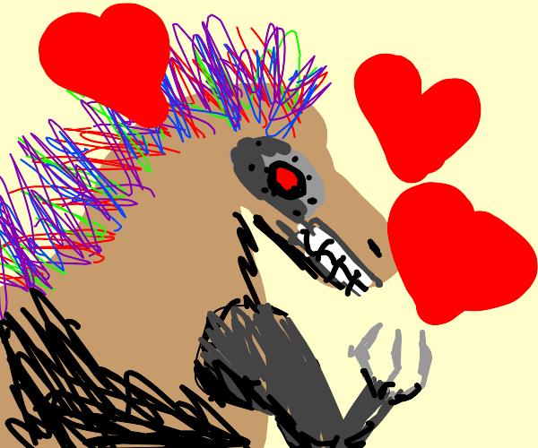Romantic Robotic Raptor