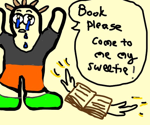 Gollum calls a book precious