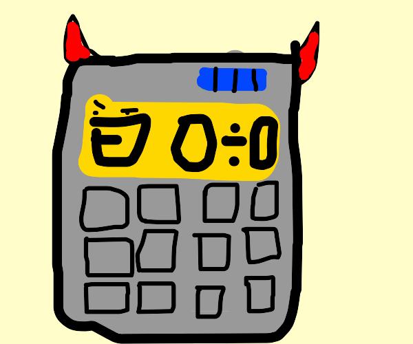Evil Calculator