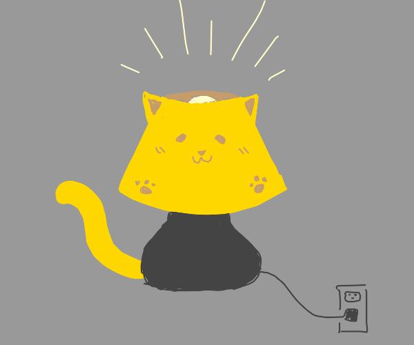cute cat lamp