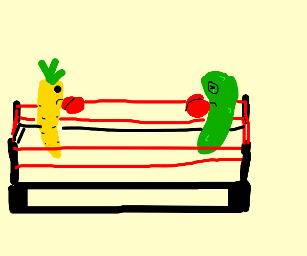 Carrot & Pickle Boxing Match