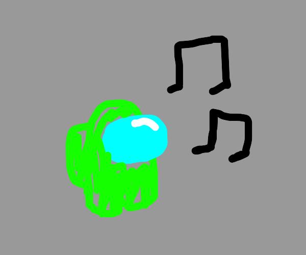 green among us singing