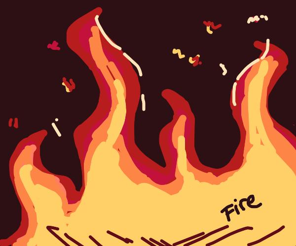 Glowing Fire