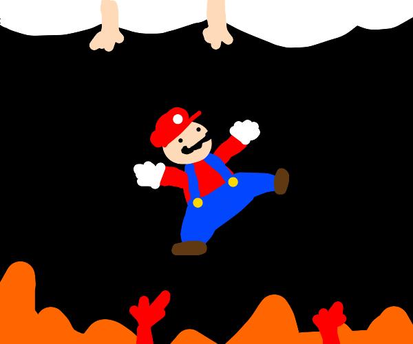 mario is sent to purgatory