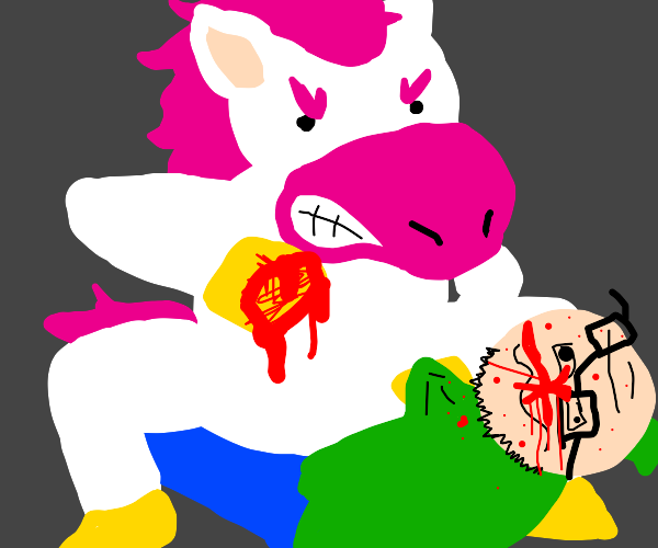 unicorn is a top and violently hates bottoms