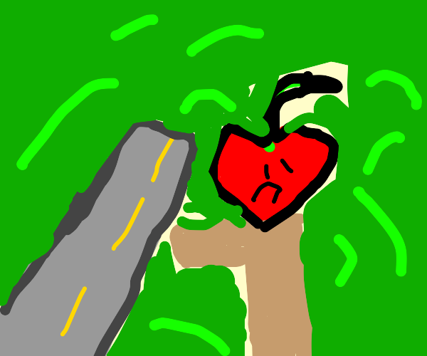 Homeless high apple