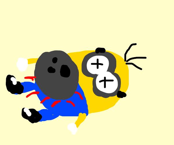 kevin died, oop