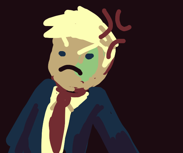 angry smol trump
