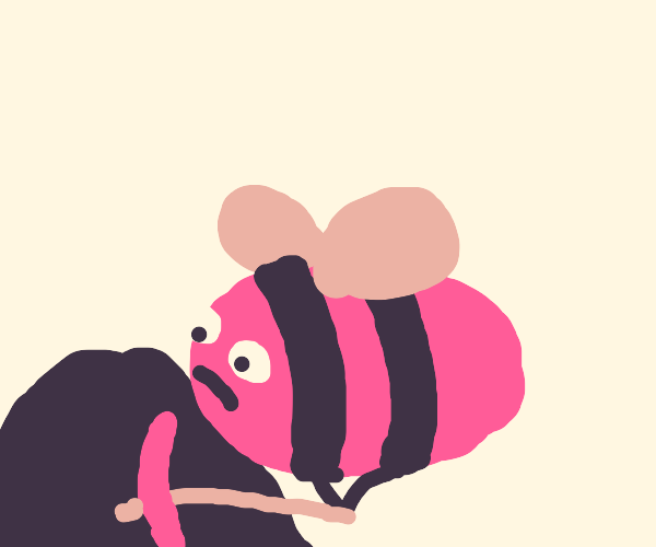 Bee is mining!
