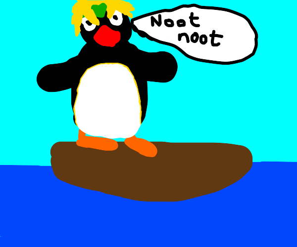NOOT NOOT on a boat