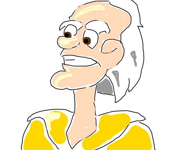Cartoon Doc Emmett Brown