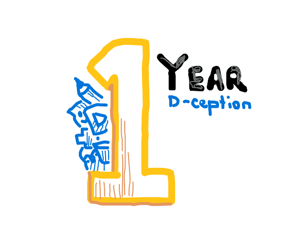 wow one year drawception congrats I suppose