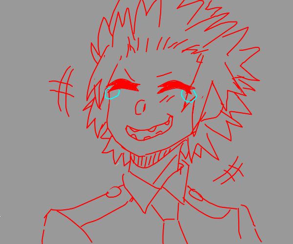 Kirishima laughing