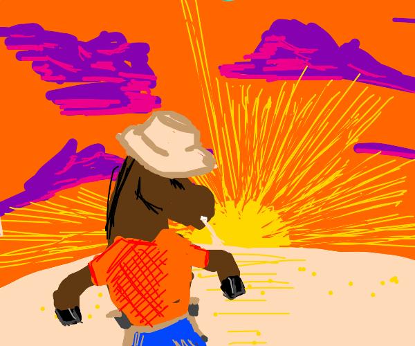 Horse-Cowboy