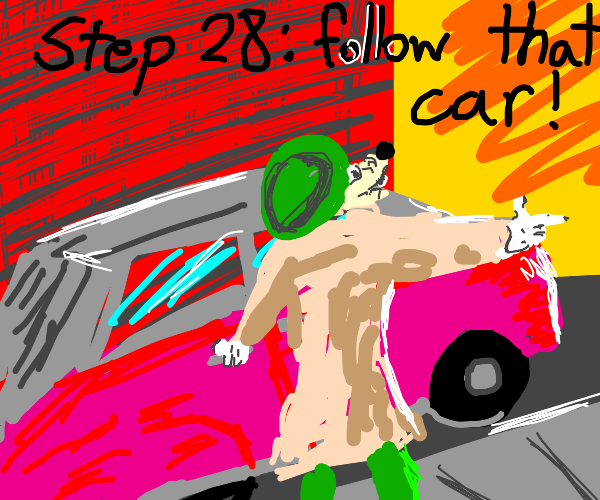 Step 27: Realize that Karen took the kids
