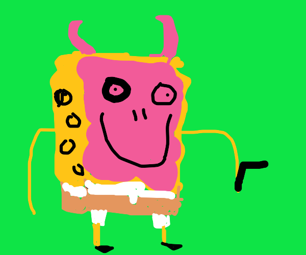 Spongebob Demonic version