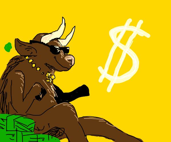 A Rich Bull (Or Moose)