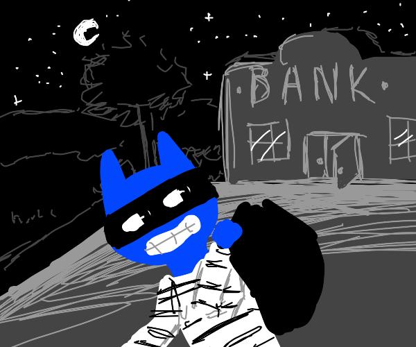 robber cat