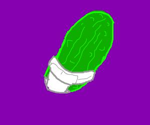Pickle in a diaper