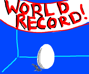 The world record egg