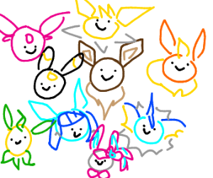 Every Eevee Evolution