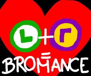 waluigi + luigi = bromance