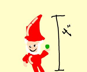 Happy little gnome