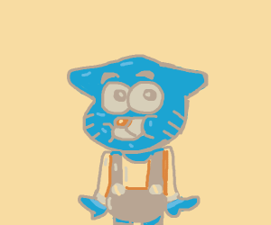 Young Gumball the cat