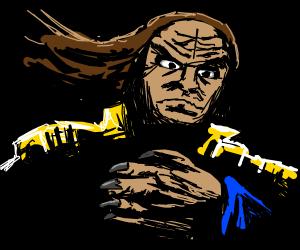 Arrogant Klingon