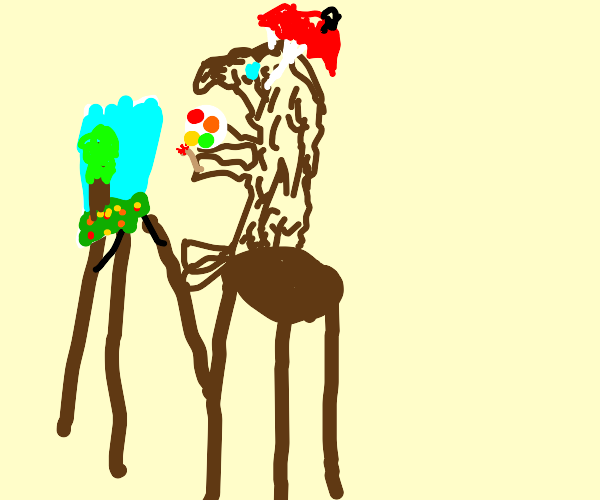 Artistic Moose