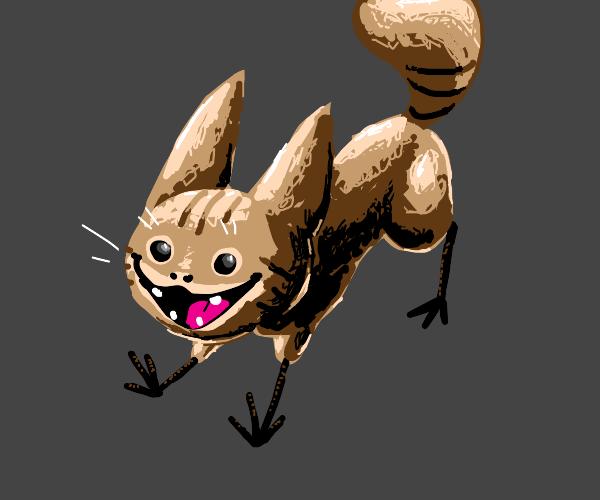 terrifying cat