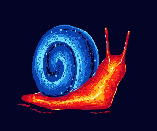 Shiny snail!